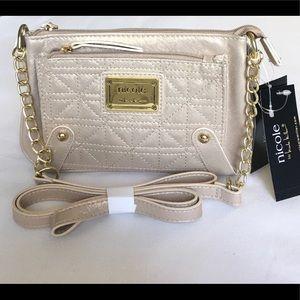 Nicole By Nicole Miller Mini Crossbody Wallet